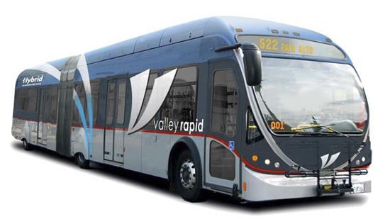 Proposed Bus Rapid Transit Vehicle