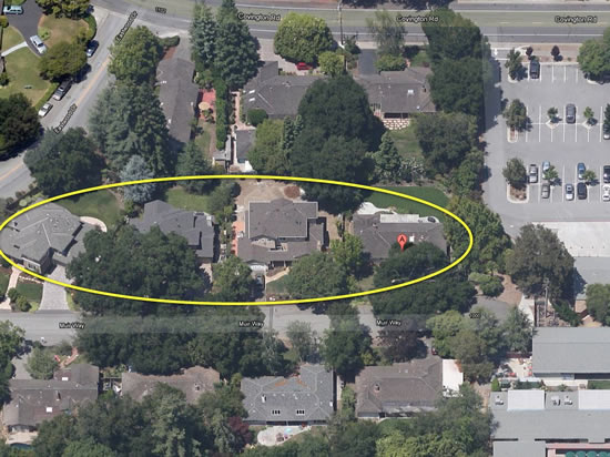 Muir Way ranch home with 2 story neighbors