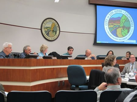 Los Altos Planning Commission Jan.19, 2012