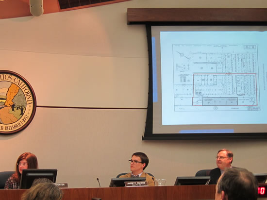 Council Examines the Safeway Parking Agreement Area Map