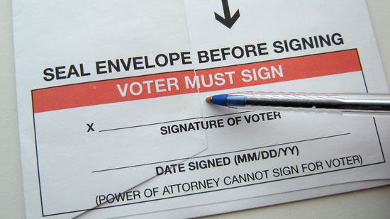 August 28 Los Altos Bond Measure is to be a Mail-in Ballot