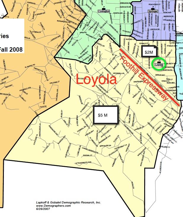Loyola Law School Campus Map.Where The Billionaires Are Los Altos Politico