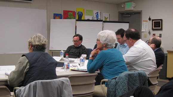 The LASD Superintendent's task force at work on Jan. 15
