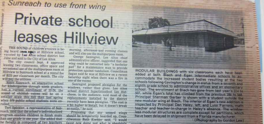Slider - Town Crier Headline Private School Leases Hillview