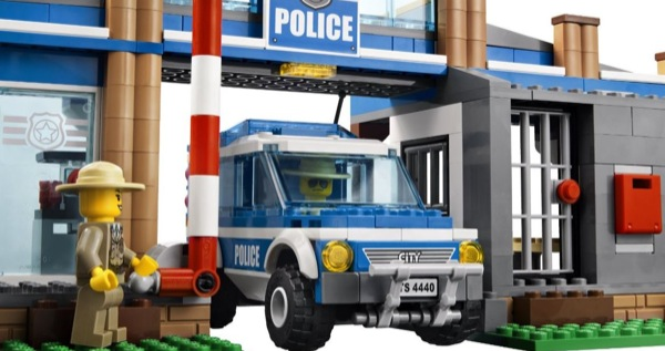 a lego police station
