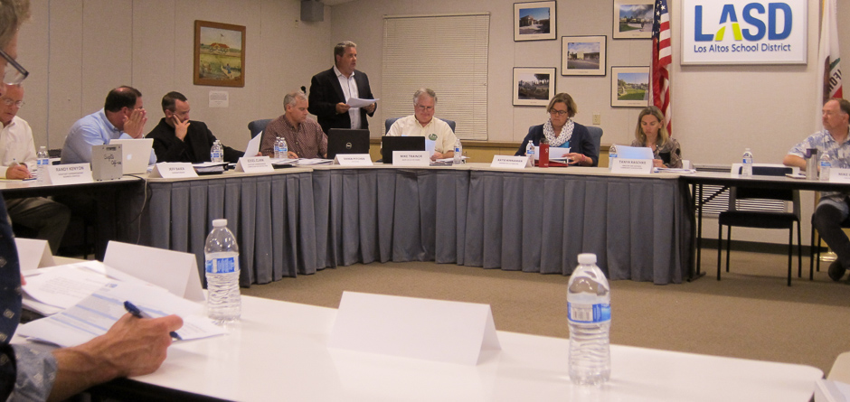Part of the LASD Master Facilities Plan Advisory Committee, 1st meeting Sept. 17, 2014