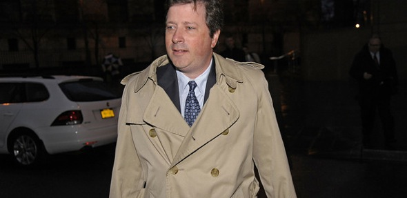 Doug Whitman in trenchcoat