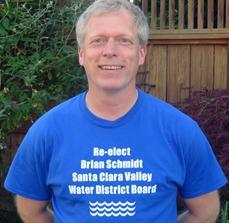 VOTE FOR Brian Schmidt for Santa Clara Valley Water District Board