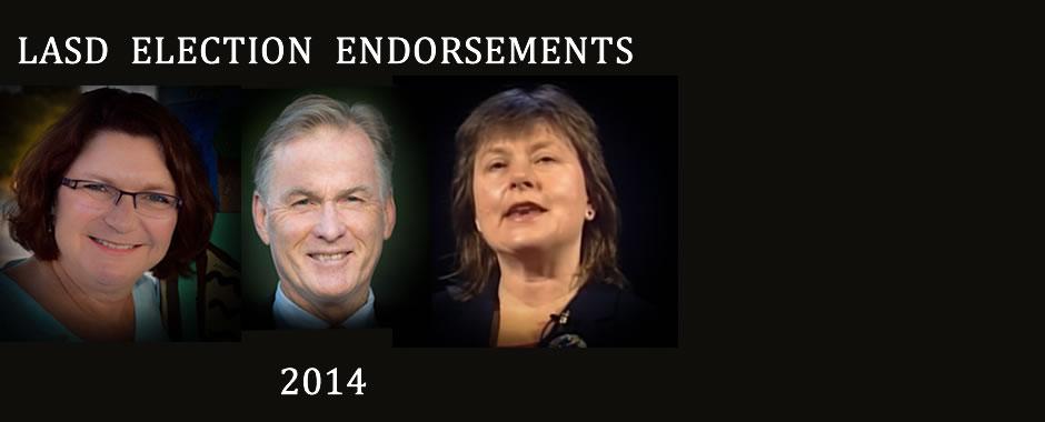 LASD Election 2014 - Endorse Logan, Swan, McClatchie
