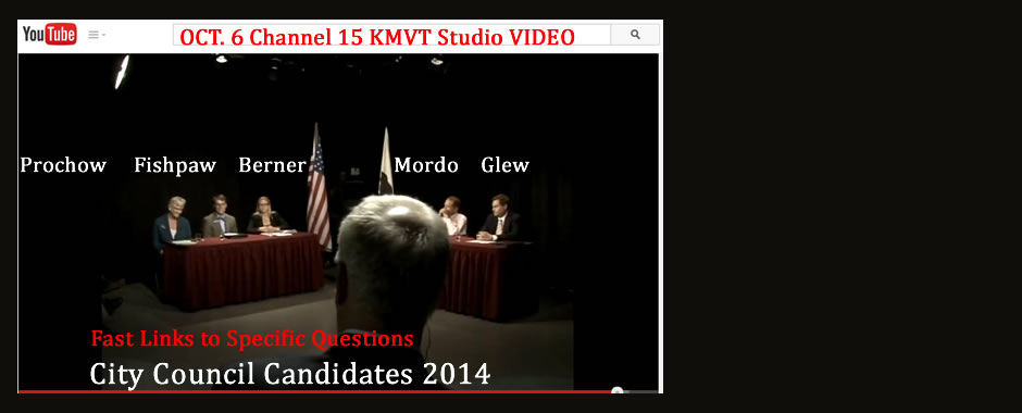 Fast links to specific questions in the 90 minute video by KMVT Mountain View