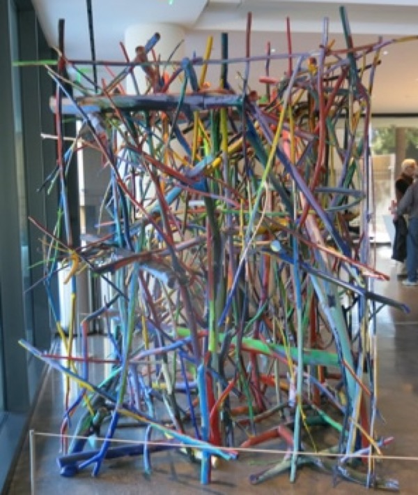 """Arnoldi, """"Untitled,"""" 1981 The Anderson Collection at Stanford University"""