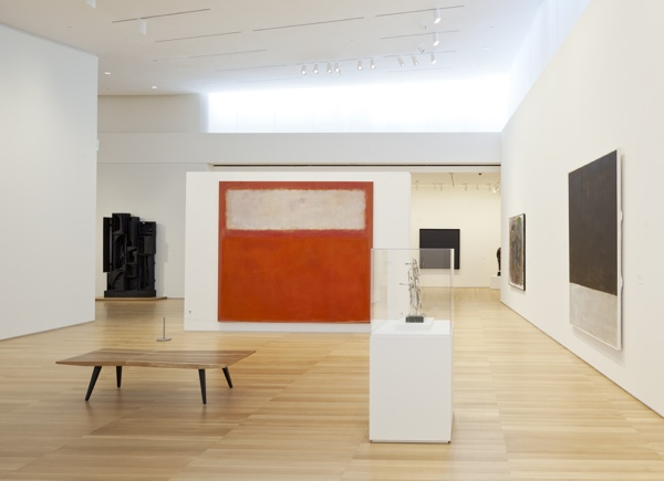 Gallery Interior The Anderson Collection at Stanford University