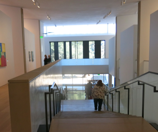 Interior Staircase The Anderson Collection at Stanford University