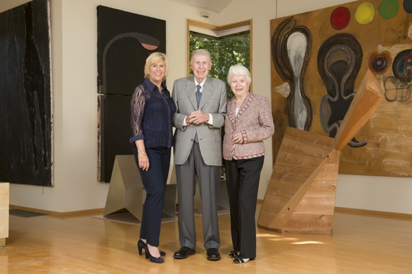 The Anderson Family in Their Studio The Anderson Collection at Stanford University
