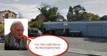 Mark Goines finds a 10th Site for a LASD school