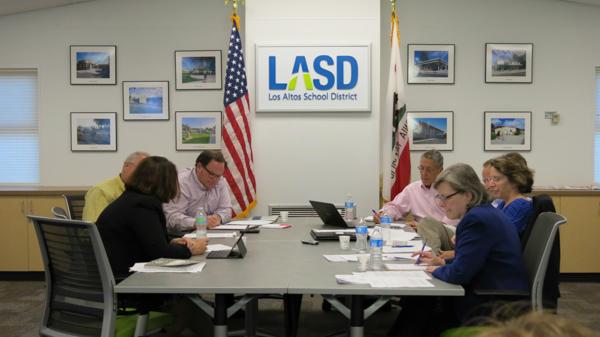 Jean Mordo, Jan Pepper, represented the City of Los Altos. Tamara Logan, Vladamir Ivanovich represented LASD