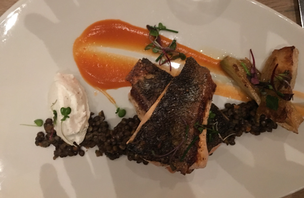 Cetrella Los Altos restaurant salmon entre
