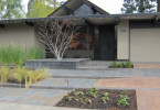In the proposed Los Altos Eichler Historic District this home has been tastefully refreshed.