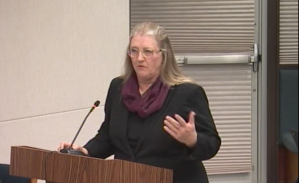 Ann Enander ably presented the key finding of the Los Altos Downtown Buildings Committee to the PTC Jan. 7, 2016