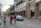 First Street pedestrian experience. Los Altos Downtown Building Committee