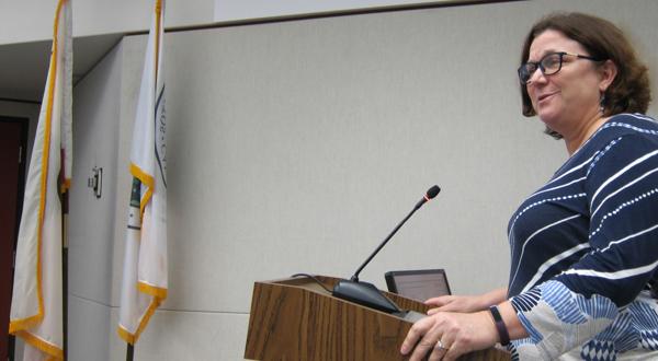 Los Altos School District Trustee, Tamara Logan, was present to answer City Council questions.