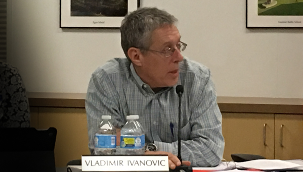 Trustee Vladamir Ivanovich, Trustee Los Altos School District, LASD tenth site BCS decision, gives his analysis of the aborted Public Lands Committee discussions
