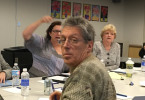 City-School Public Lands Committee. Shown Marcia Sommers, Tamara Logan, Vladimir Ivanovich, Jeannie Bruins, Jan Pepper.