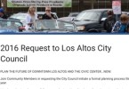 Los Altos Community Coalition advocates for integrated planning of Downtown Los Altos and the whole Civic Center