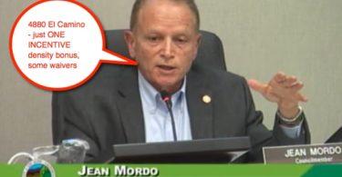 4880 El Camino, Jean Mordo explains waivers vs. incentives