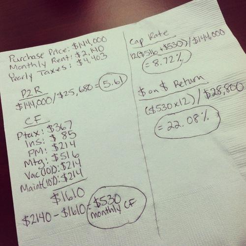 finance-napkin