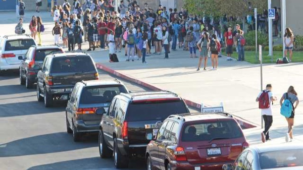 Traffic at schools