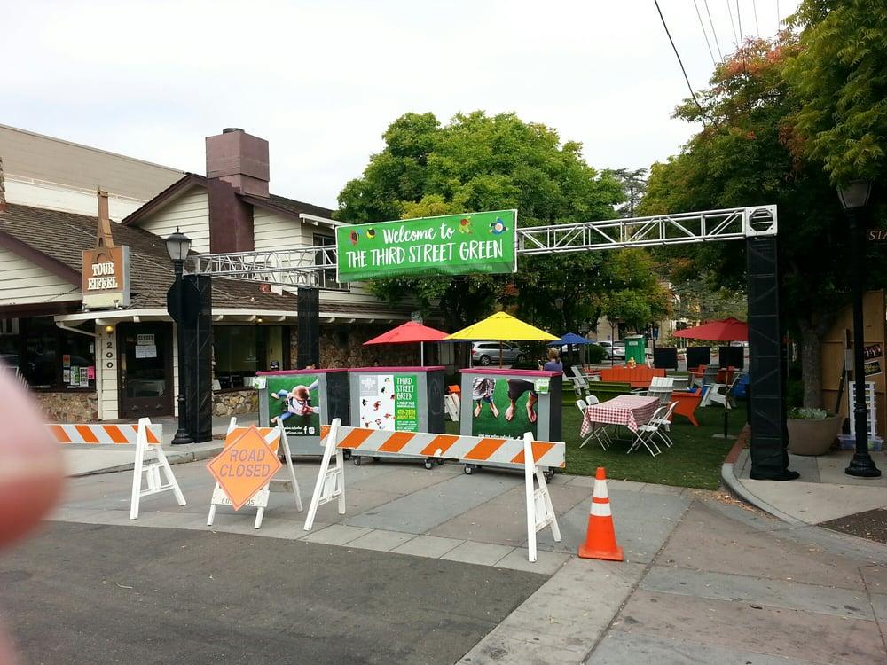 Passerelle Third Street Green