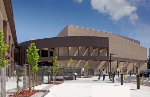 new school building in Menlo Park, Hillview School
