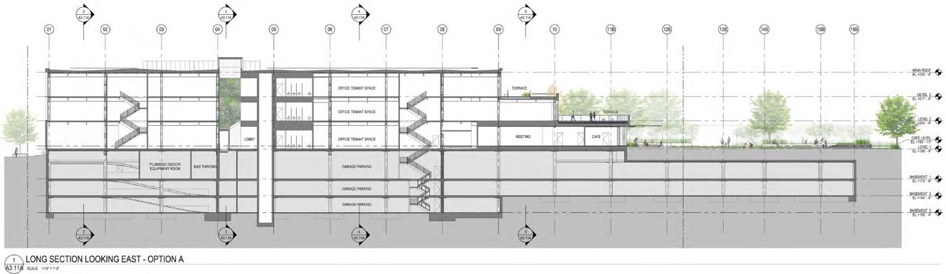 LACI First Street Green underground parking