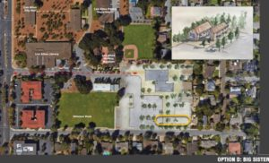 Noll & Tam exploratory site approach, Hillview Community Center, Los Altos