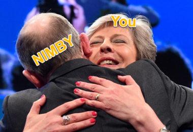 Joe Simitian says Hug a NIMBY