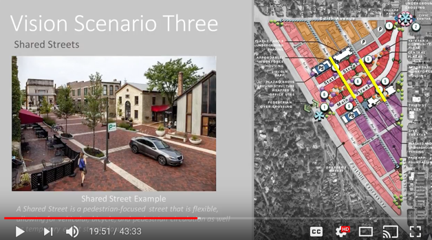 Los Altos Downtown Vision Shared Streets