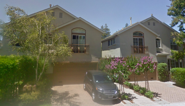 Cuesta neighborhood near downtown Los Altos