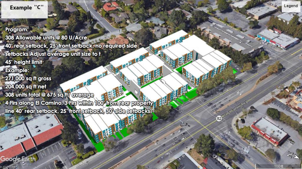 5150 El Camino Concept C high density