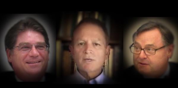 Jerry Sorensen, Jean Mordo, Ron Packard , Los Altos