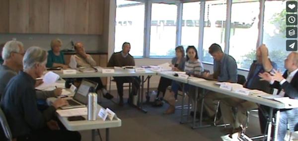Los ALtos Parking Committee Meeting