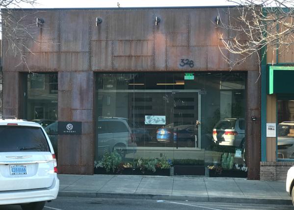 Hiroshi restaurant, Los Altos downtown
