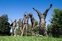 Olympic Wannabes favorite public art in Los Altos