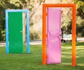 Doors Sculpture