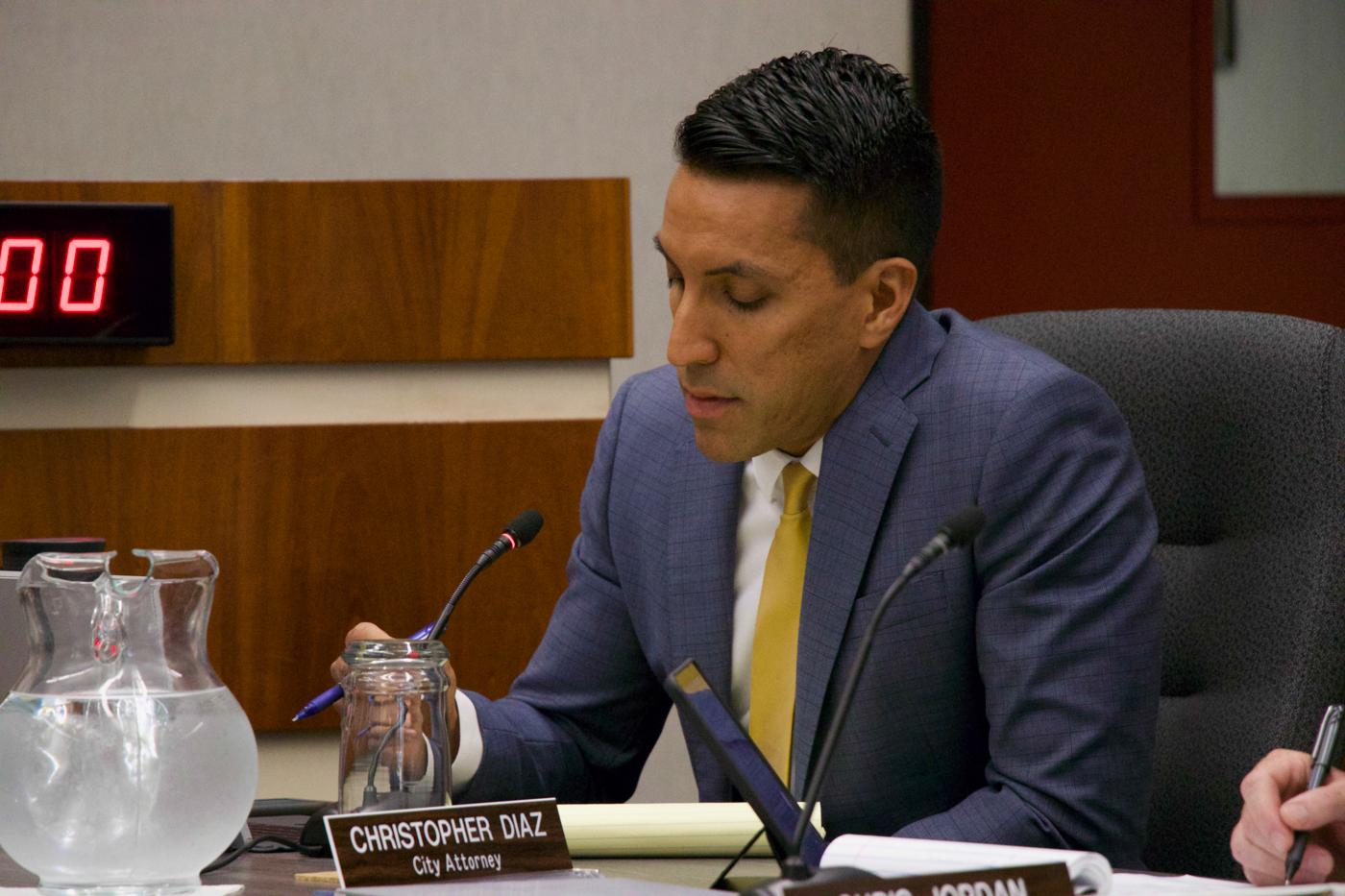 Chris Diaz, City of Los Altos California, Attorney August 2018