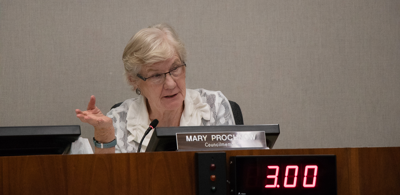 Mary Prochow, City of Los Altos California City Council member