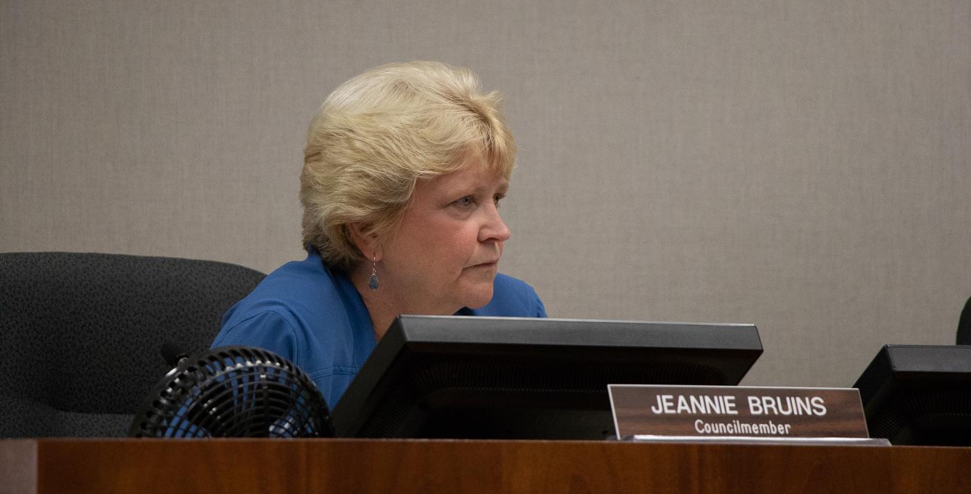 Los Altos California Council member, Jeanne Bruins
