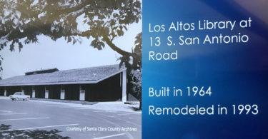 Los Altos Library circa 1960s