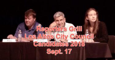 Los Altos City Council Candidates 2018, Bruce Barton, Dave Price