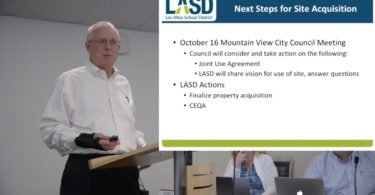 Pro-like video of the LASD Trustee Meeting that upset MV City Council, Randy Kenyon